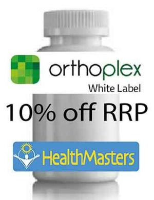 Orthoplex White Curcuma Clinical 60c 10% off RRP at HealthMasters