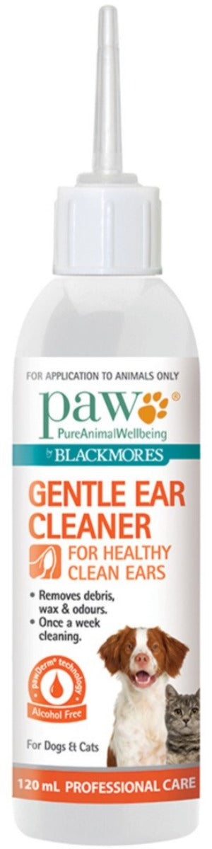 PAW By Blackmores Gentle Ear Cleaner 120ml 10% off RRP at HealthMasters PAW by Blackmores