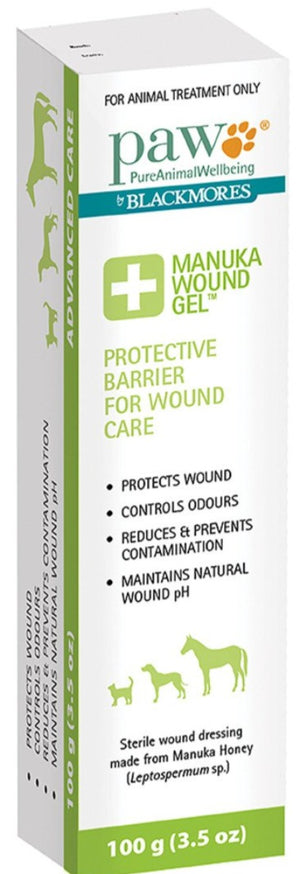 PAW By Blackmores Manuka Wound Gel 100g 10% off RRP at HealthMasters PAW by Blackmores