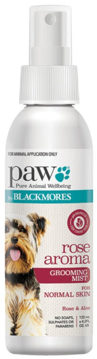 PAW By Blackmores Rose Aroma Grooming Mist 125ml