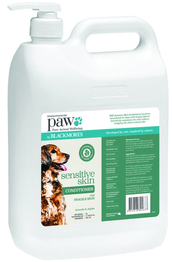 PAW By Blackmores Sensitive Skin Conditioner (Avocado & Jojoba) 5L