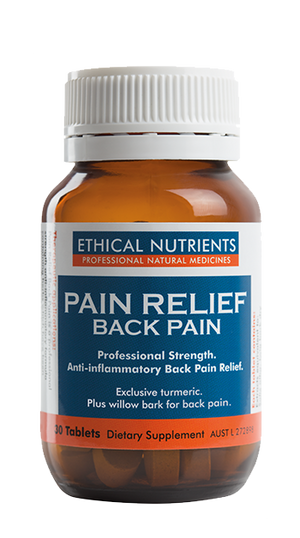 Ethical Nutrients Pain Relief Back Pain 30 Tabs | HealthMasters