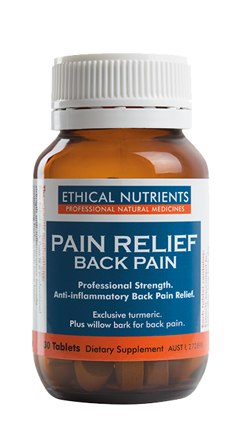 Ethical Nutrients Pain Relief Back Pain 30 Tablets