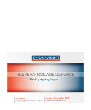 Ethical Nutrients Resveratrol Age Defence 30 Tabs | HealthMasters