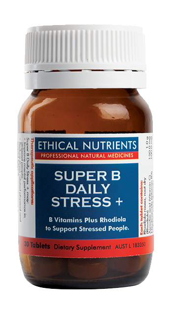 Ethical Nutrients Super B Daily Stress + 30 Tabs