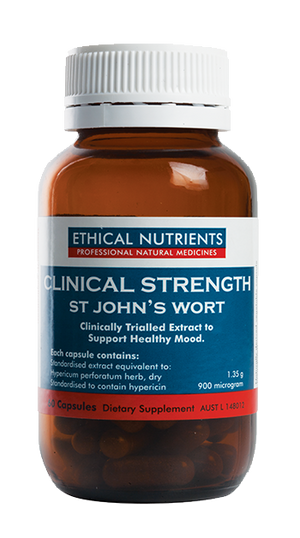 Ethical Nutrients Clinical Strength St John's Wort 60 Caps | HealthMasters