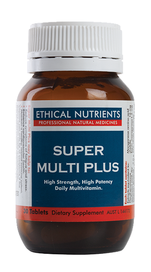 Ethical Nutrients Super Multi Plus 120 Tabs | HealthMasters
