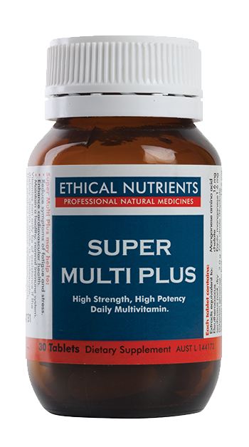 Ethical Nutrients Super Multi Plus 120 Tabs