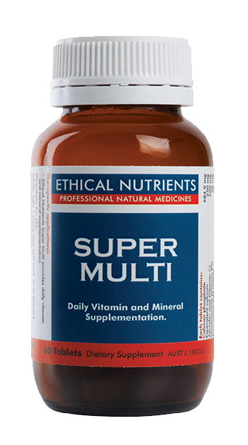 Ethical Nutrients Super Multi 60 Tabs