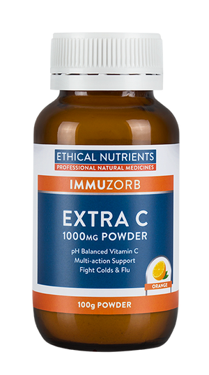 Ethical Nutrients IMMUZORB Extra C Powder 100g}HealthMasters