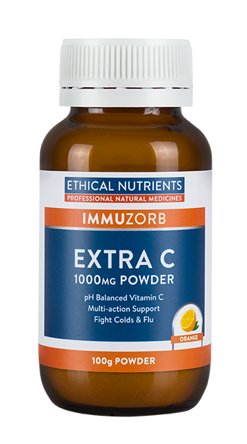 Ethical Nutrients IMMUZORB Extra C Powder 100g