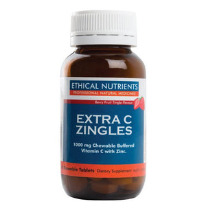 Ethical Nutrients Immuzorb Extra C Zingles Berry 50 Chewable Tabs | HealthMasters