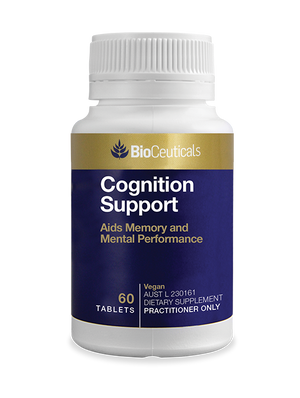 BioCeuticals Cognition Support 60 tabs 10% off RRP | HealthMasters