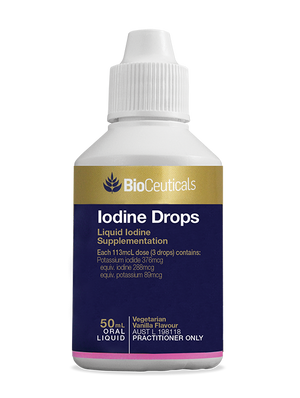 BioCeuticals Iodine Drops 50mL liquid 10% off RRP | HealthMasters