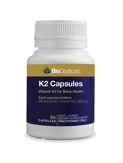 BioCeuticals K2 Capsules 30 softgel caps