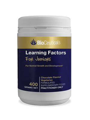 BioCeuticals Learning Factors For Juniors Chocolate 400g 10% off RRP | HealthMasters