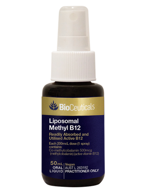 BioCeuticals Liposomal Methyl B12 50mL 10% off RRP | HealthMasters