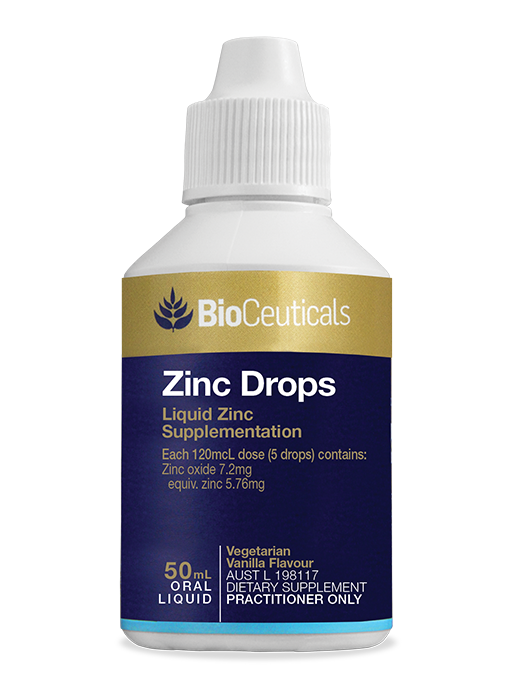 BioCeuticals Zinc Drops 50mL liquid