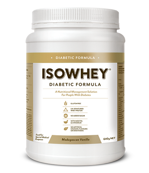 BioCeuticals IsoWhey Diabetic Formula Madagascan Vanilla 640g 10% off RRP | HealthMasters
