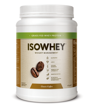 BioCeuticals IsoWhey Classic Coffee 672g 10% off RRP | HealthMasters