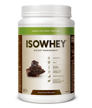 BioCeuticals IsoWhey Ivory Coast Chocolate 21 sachets/box 10% off RRP | HealthMasters