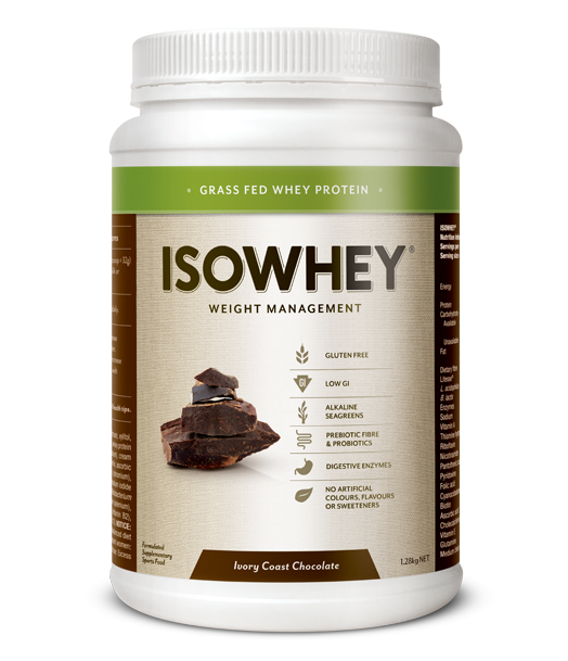 BioCeuticals IsoWhey Ivory Coast Chocolate 21 sachets/box
