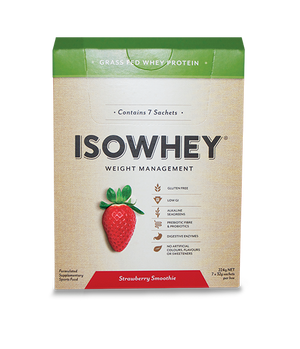 BioCeuticals IsoWhey Strawberry Smoothie 448g 10% off RRP | HealthMasters