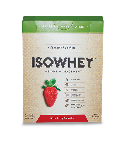 BioCeuticals IsoWhey Strawberry Smoothie 448g