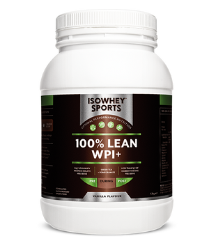 BioCeuticals IsoWhey Sports 100% Lean WPI+ Vanilla 1.28kg 10% off RRP | HealthMasters