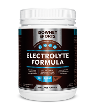 BioCeuticals IsoWhey Sports Electrolyte Formula Pineapple 500g 10% off RRP | HealthMasters