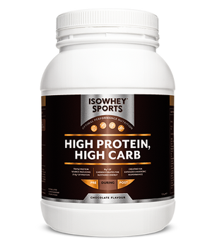 BioCeuticals IsoWhey Sports High Protein, High Carb Chocolate 1.2kg 10% off RRP | HealthMasters