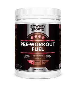 BioCeuticals IsoWhey Sports Pre-Workout Fuel 500g 10% off RRP | HealthMasters