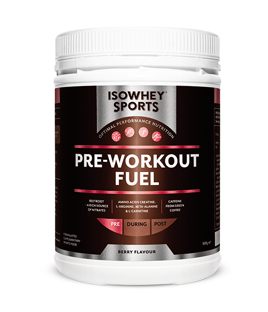 BioCeuticals IsoWhey Sports Pre-Workout Fuel 500g