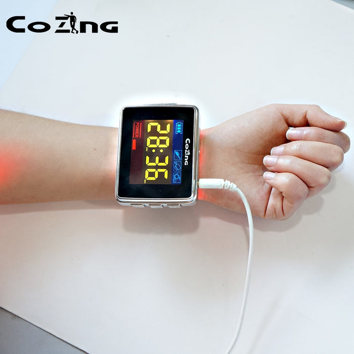 Brain Photobiomodulation Laser Therapy 650nm Watch Stroke Treatment