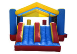 Kids Inflatable Bounce House Combo Dual Slide with BLOWER, Commercial Grade (Model 062)