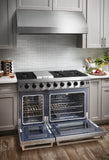 "THOR KITCHEN 48"" STAINLESS STEEL GAS RANGE - LRG4807U"