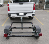 4x4 Mini Utility Trailer ( 3 options GALVANIZED, BLACK OR ALUMINUM)