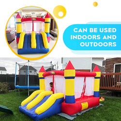 THE BOOMER  BOUNCY CASTLES/HOUSE