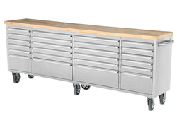 "THOR 96"" 24 Drawer Rolling Metal Tool Chest"