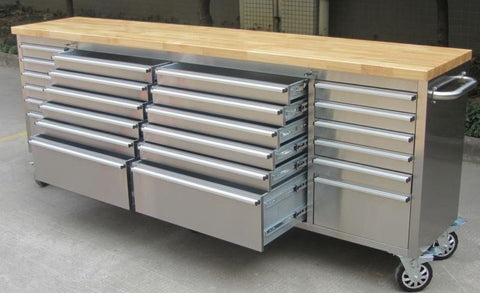 Thor 96 24 Drawer Rolling Metal Tool Chest