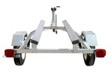 FAST FISH DELUXE BOAT TRAILER/ PERSONAL WATERCRAFT TRAILER (GALVANIZED OR WHITE)