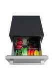 "THOR 24"" Under counter built-in outdoor drawer refrigerator"