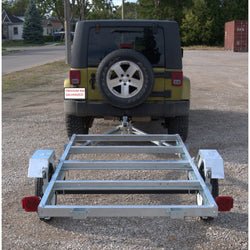 FREEDOM 4X8 GALVANIZED FOLDING UTILITY TRAILER