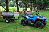 THE BOSS X - HEAVY DUTY STEEL ATV TRAILER ( with gates)