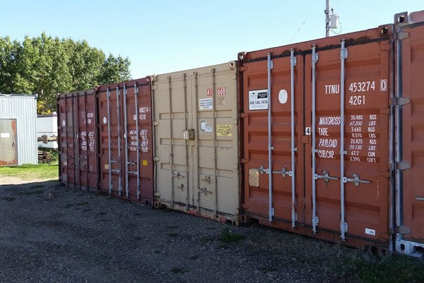 20 FOOT SHIPPING CONTAINER RENTALS