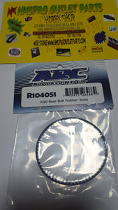 ARC Rear Belt Rubber R10 R11 Rear Belt Rubber 3mm