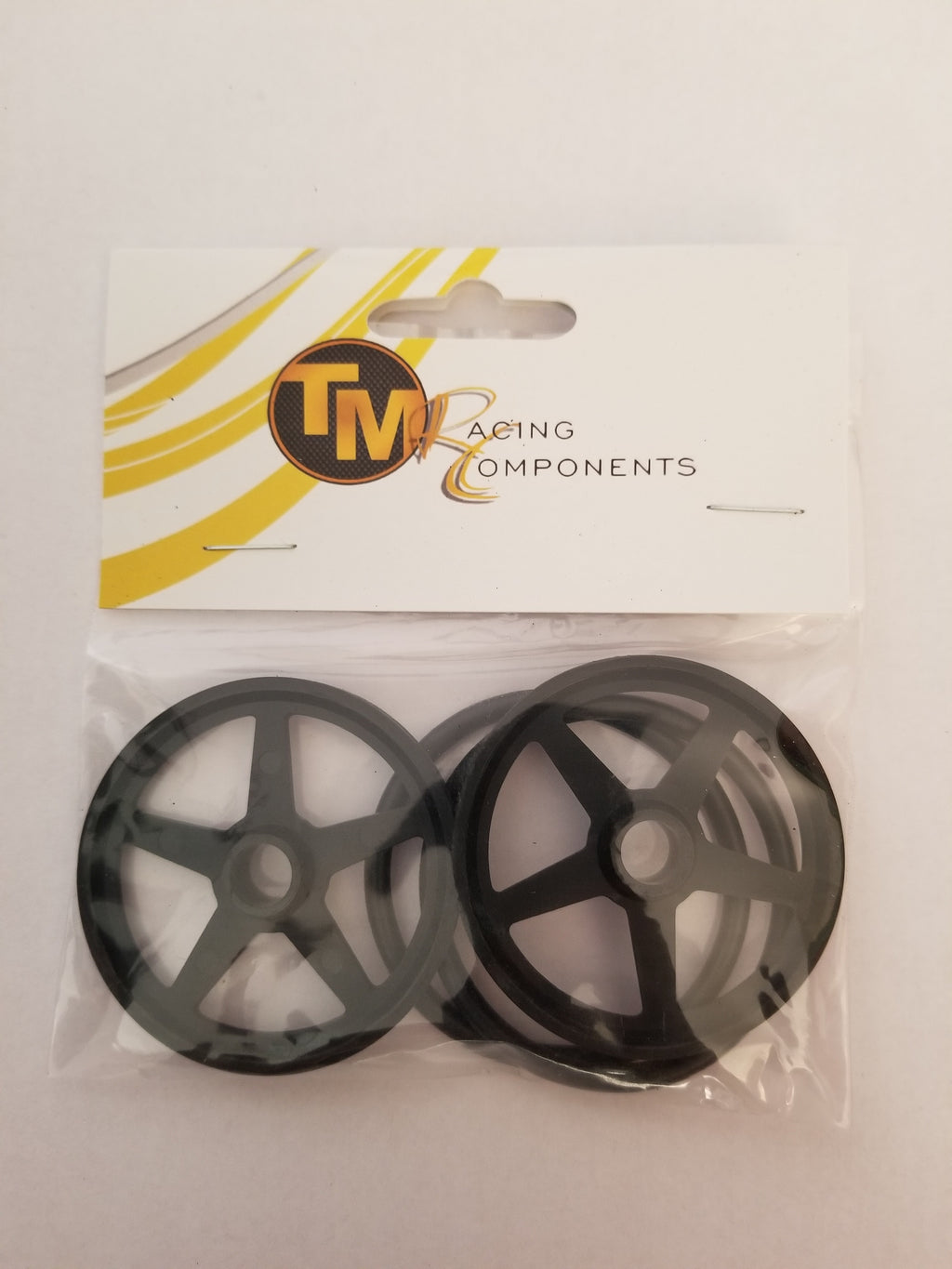 "Tm Racing   Components 2"" plastic front rims"