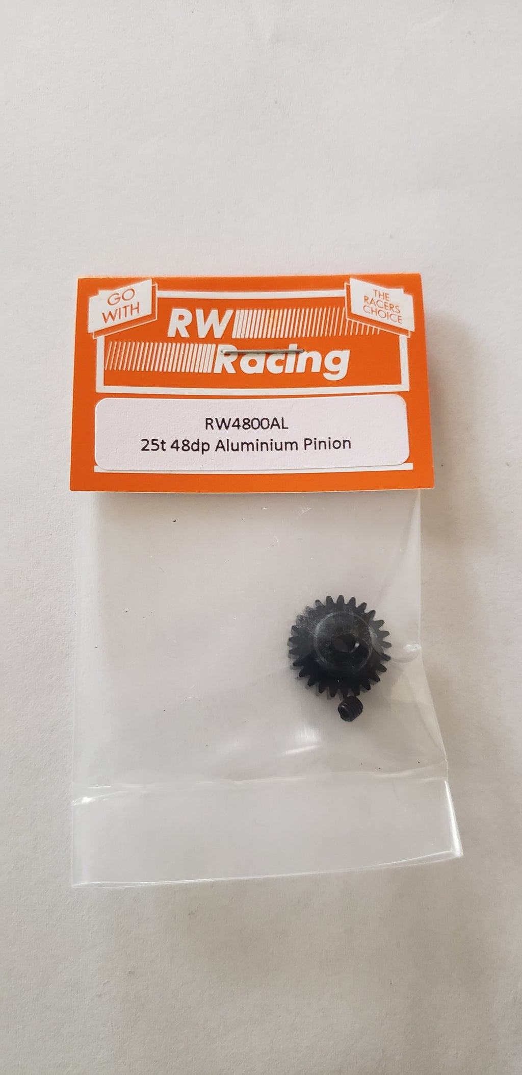 RW Racing Pinion motor  25 tooth 48 pitch for RC Cars