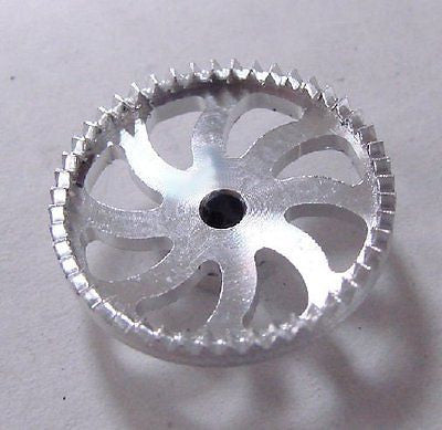 "Sonic Aluminum 50T ""Ultra Lite"" Drag Crown Gear for 1/24 Slot Car"