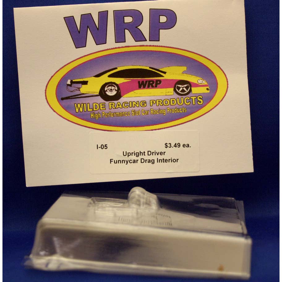WRP I-05 FUNNY CAR INTERIOR UPRIGHT DRIVER